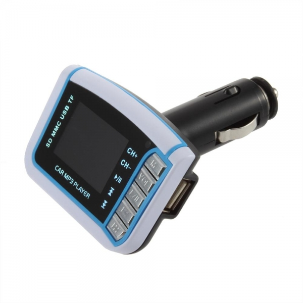 New car fm mp3 transmitter with micro usb tf slot card for Table th td tf