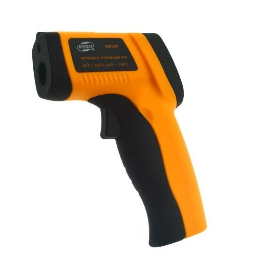 Battery #209 New LCD Digital IR Infrared With Laser Thermometer Non Contact